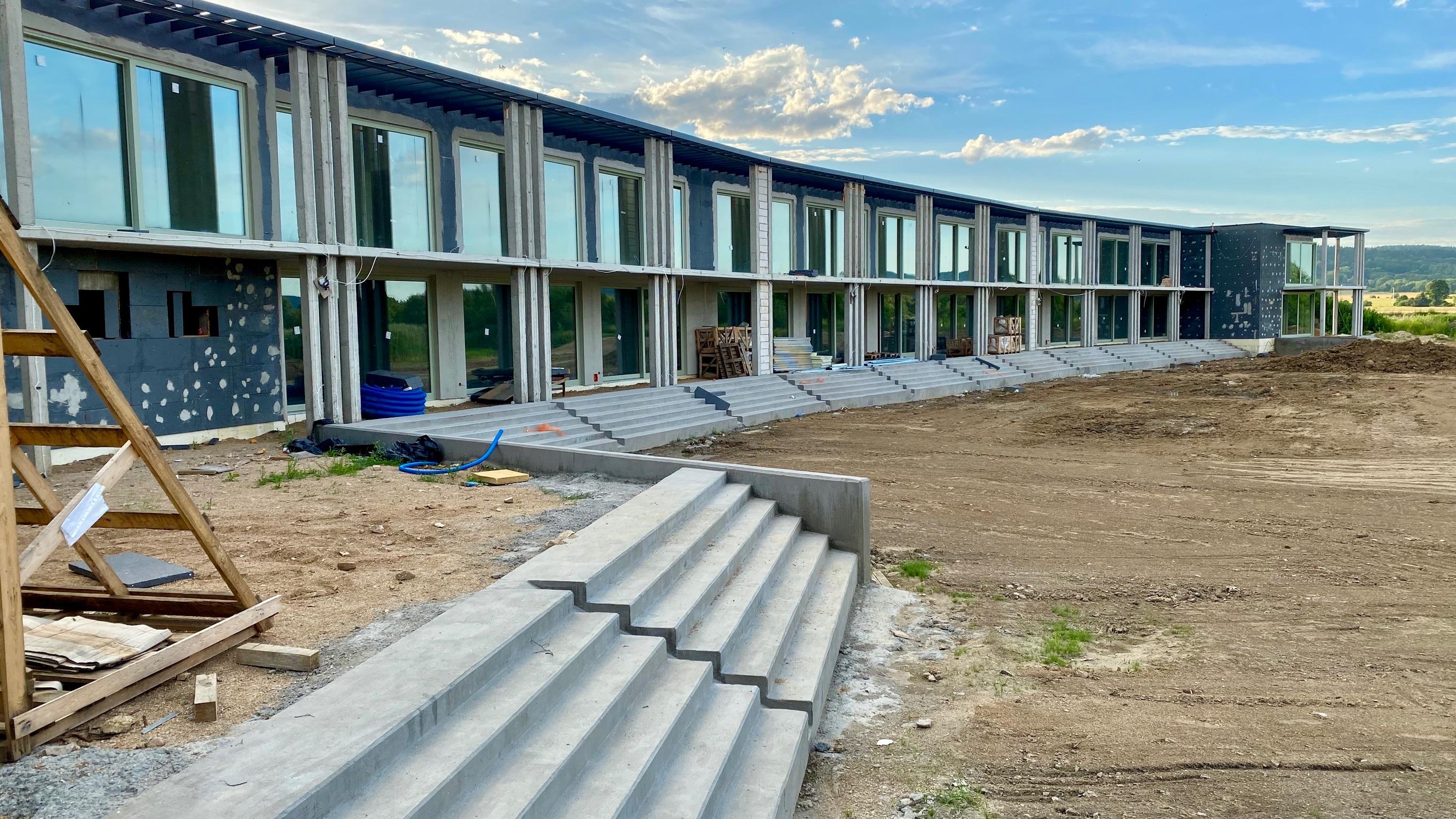 Seehaus in Wernersdorf vor Eröffnung