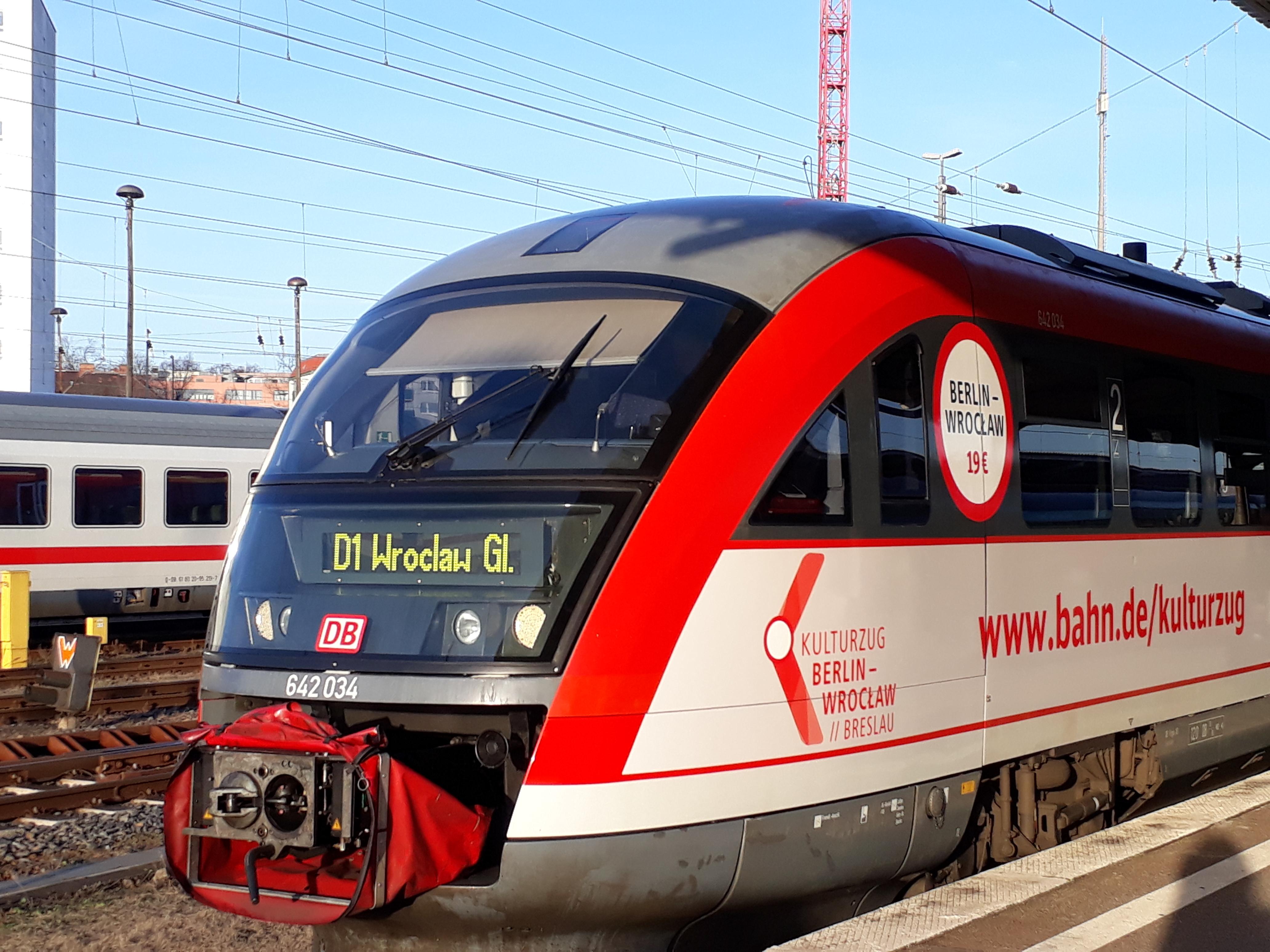 Kulturzug Berlin-Breslau fährt wieder