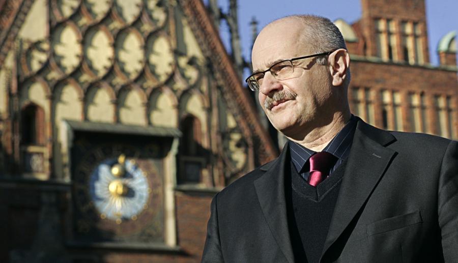 Ehrenbürgerwürde der Stadt Breslau für Dr. Maciej Łagiewski