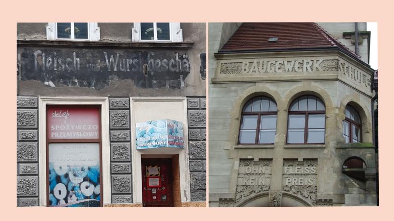 Wo die Mauern noch deutsch sprechen