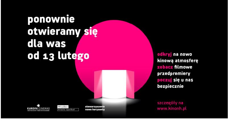 """""""Nowe Horyzonty"""" wieder geöffnet!"""