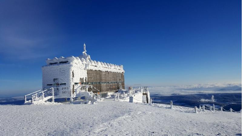 Postamt auf Schneekoppe
