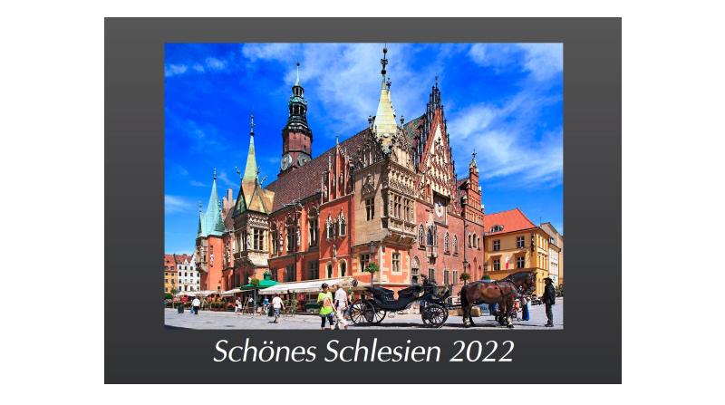 Großformatiger Kalender Schlesien 2022
